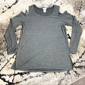 Matty M Slate color size M  Cold shoulder